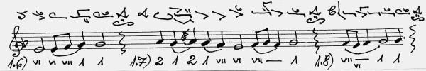 - cadence level = di - 3 - Suceveanu