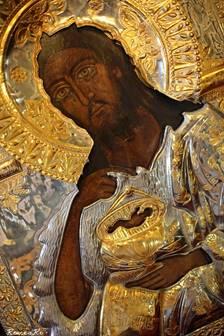 Icoana Sfîntului Ioan Botezătorul cu care a plecat la luptă Armata Română pentru eliberarea Basarabiei, la 22 iunie 1941.