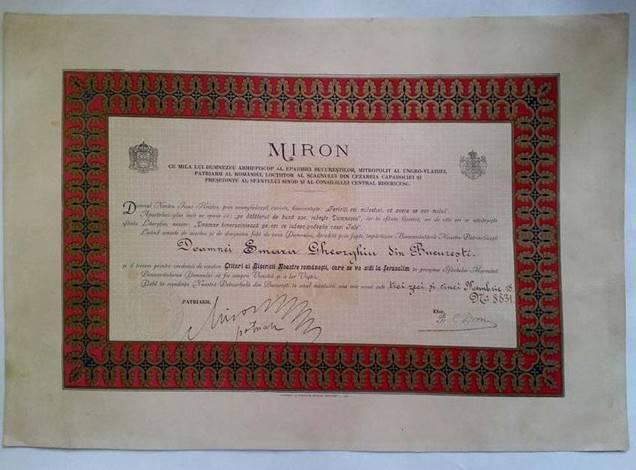 DOAMNEI SMARA GHEORGHIU- ANUL 1935, 18 NOIEMBRIE -  BUCUREŞTI