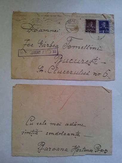 TELEGRAMĂ - BAROANA HORTENZ POPP
