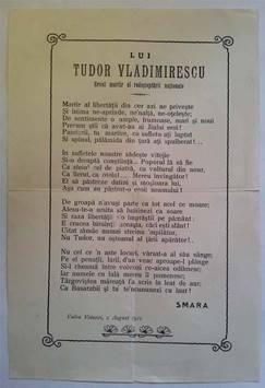 LUI TUDOR VLADIMIRESCU- EROUL MARTIR AL REDEŞTEPTĂRII NAŢIONALE