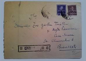 TELEGRAMĂ -  RADU ROSETTI
